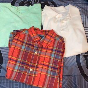 Bundle- 3 boys shirts